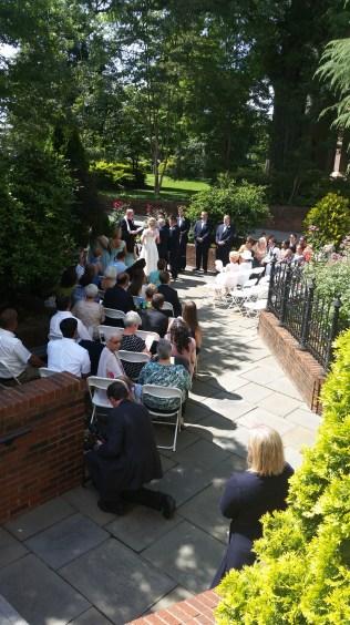 Rowan Museum Courtyard Wedding