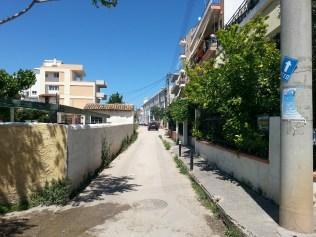 Η ... Ολυμπιακή λεωφόρος Παπαρηγοπούλου ακόμα περιμένει την διαπλάτυνσή της