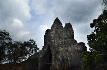 Entrance to Bayon Temple.