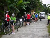 Our group, at a water break
