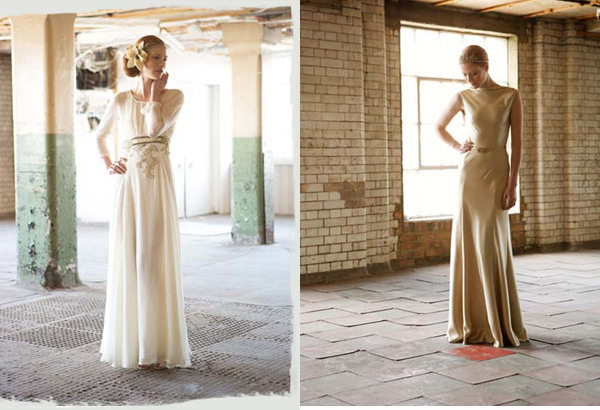 Charlotte Casadéjus :: Vintage Wedding Dress