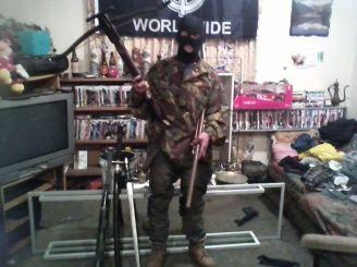 Uknown Armed member of RWR