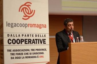 Il presidente di Legacoop Romagna Giancarlo Ciaroni