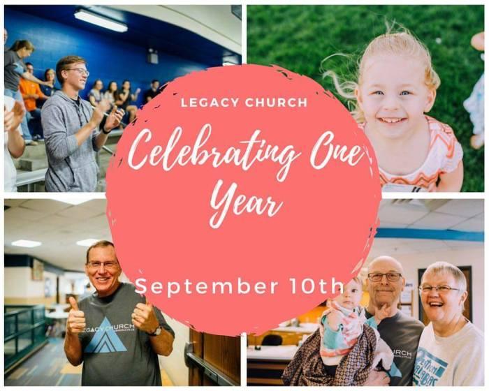 Legacy Church 1 Yr Anniversary