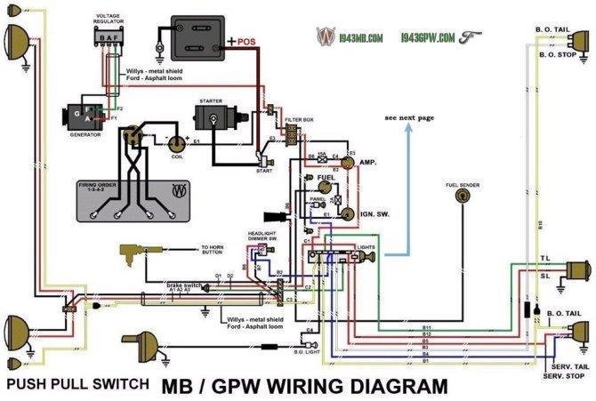 willys jeep alternator wiring  auto wiring diagrams drain