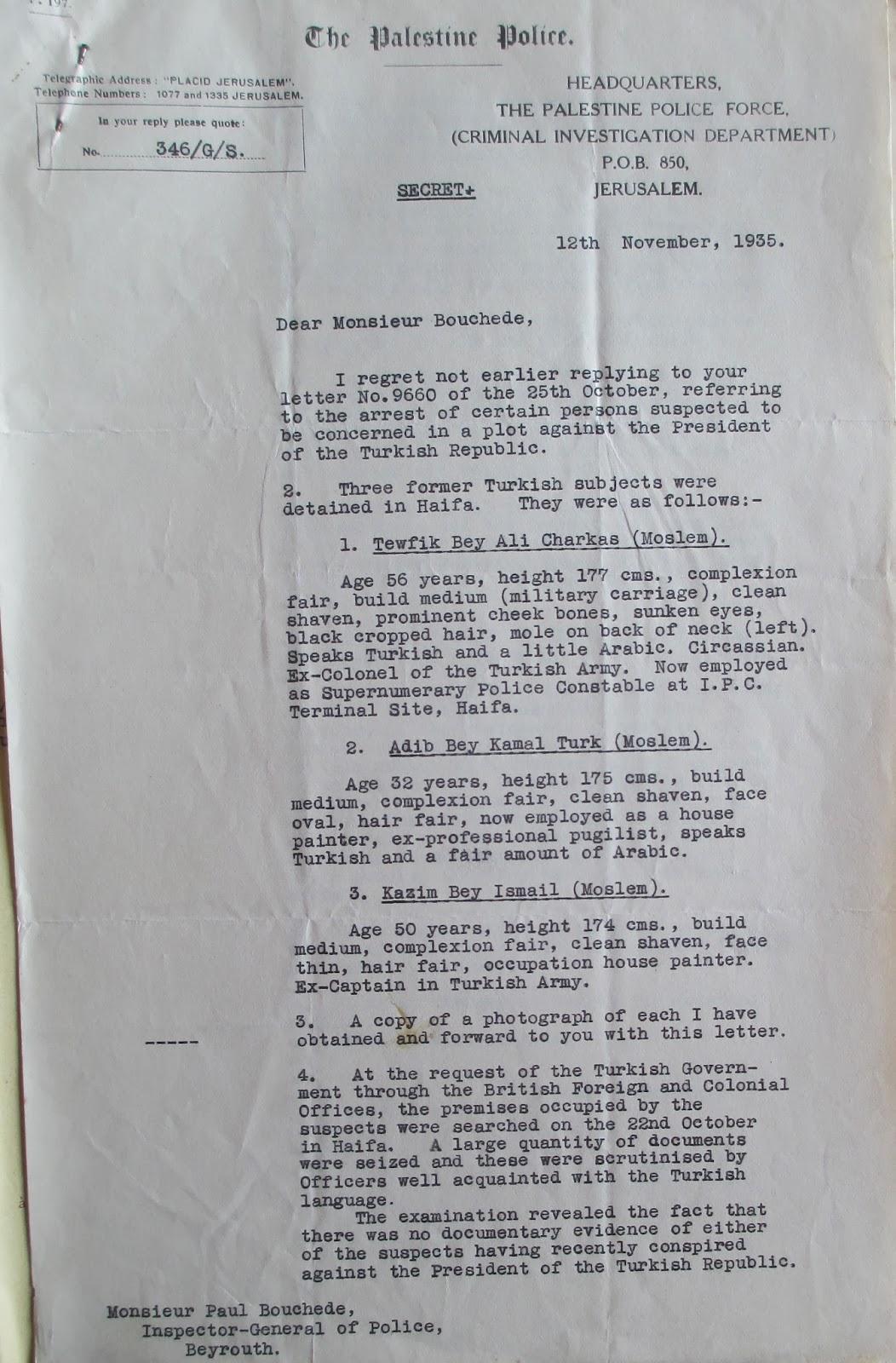 The Plot to Kill Atatürk – HyeTert