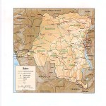 Congo Democratic Republic Maps Perry Castaneda Map Collection Ut Library Online