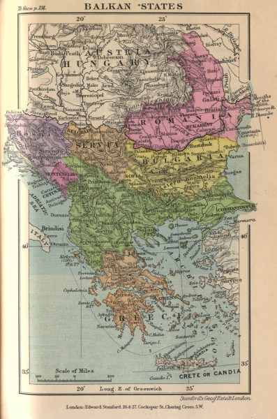 The Balkans Historical Maps   Perry Casta    eda Map Collection   UT     Map Collection