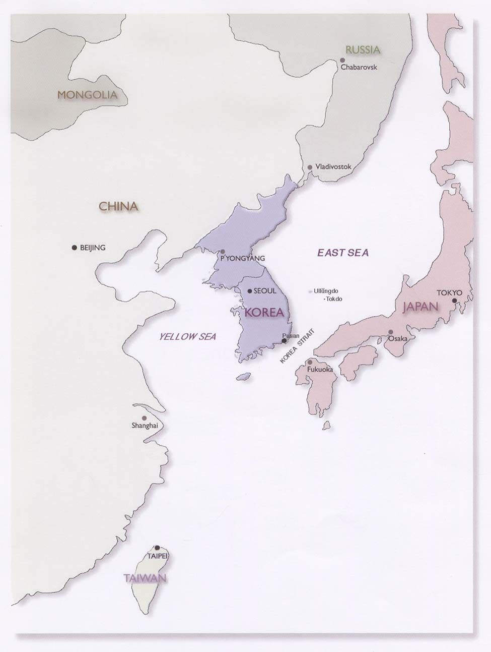 Korea Maps Perry Castaneda Map Collection Ut Library Online