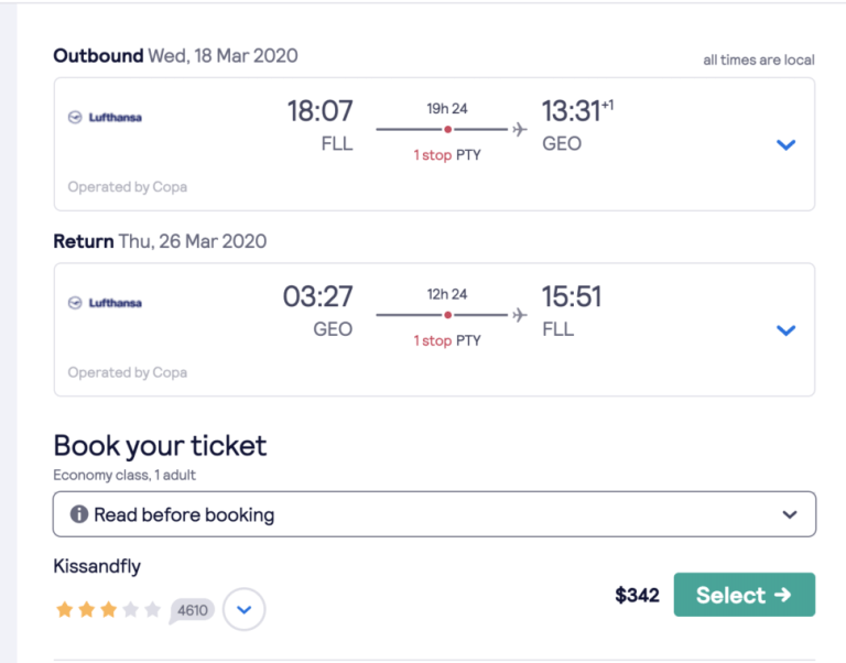 Cheapest places to travel to in march 2020