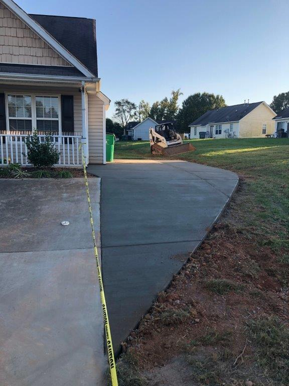 concrete-driveway-extension-charlotte-nc