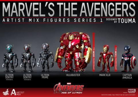 hot toys artist mix avengers