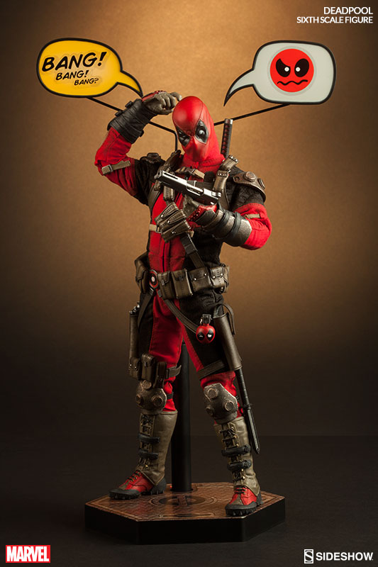 Just In! Deadpool Sixth Scale Figure by Sideshow |
