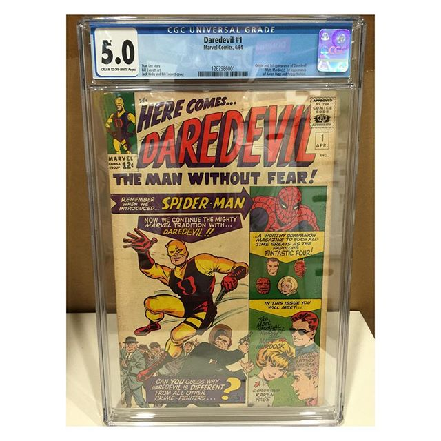 Just in from #cgc #daredevil #1