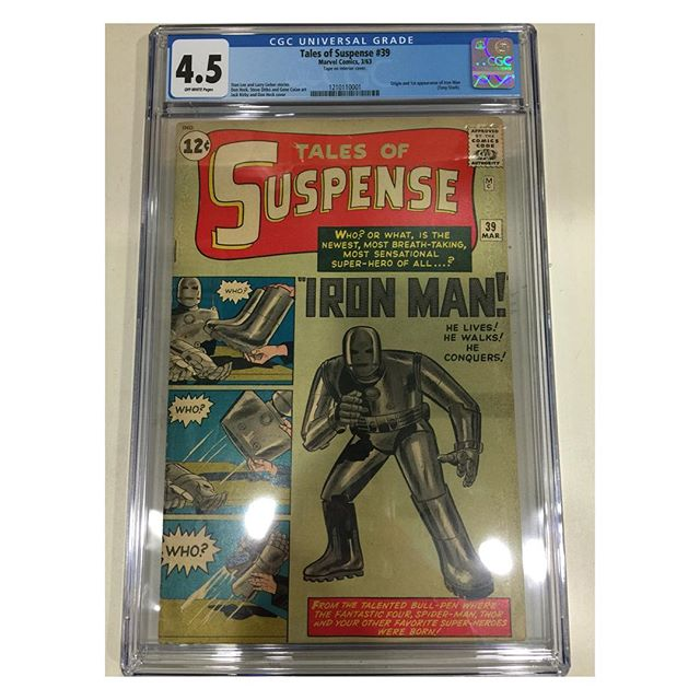Just in from #cgc Tales of Suspense #39 first #ironman