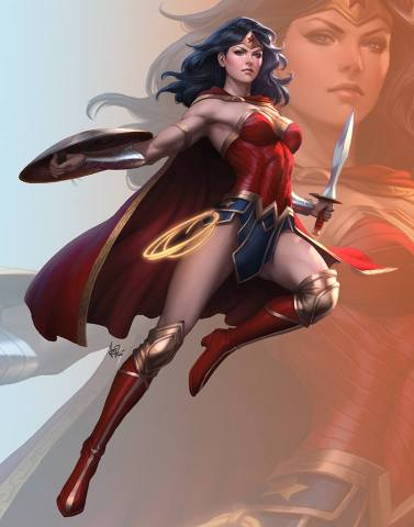 wonder woman rebirth artgerm