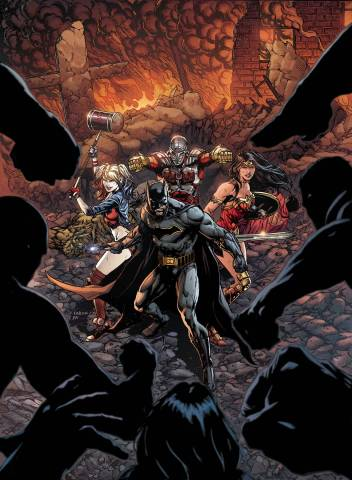 Justice League Suicide Squad Regular Cover