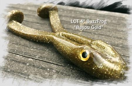 LCT 4.0 BuzzFrog Bayou Gold 450x294