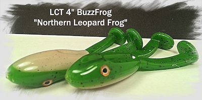 LCT 4.0 BuzzFrog Northern Leopard Frog 400x198