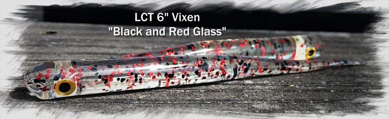 LCT 6.0 Vixen Black and Red Glass 2942x901