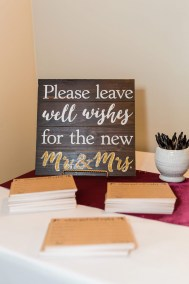 Well Wishes for the New Mr & Mrs. Sign