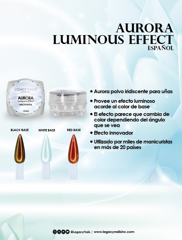 aurora luminous effect esp