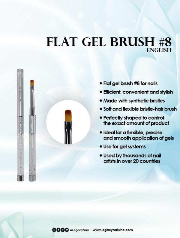 flat gel brush 8 eng