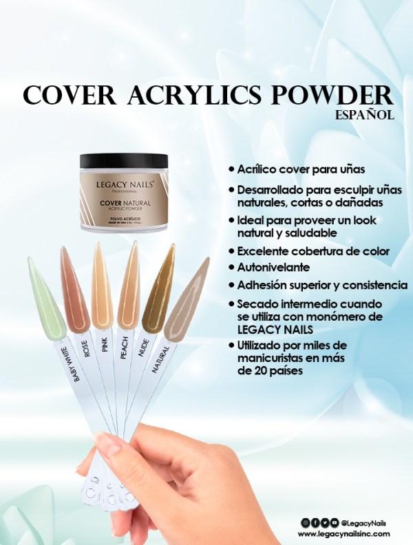 cover natural acrylic esp