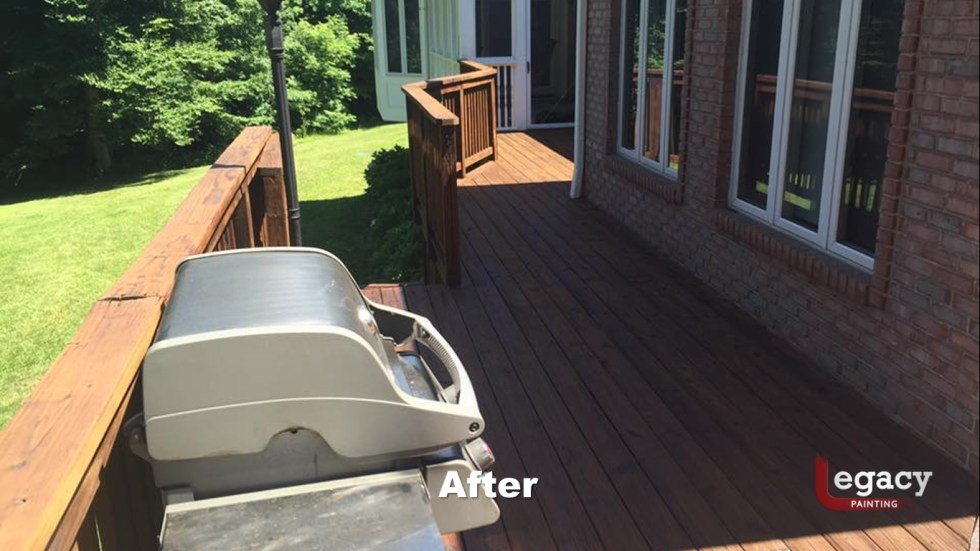 Deck Pressure Wash And Stain 3