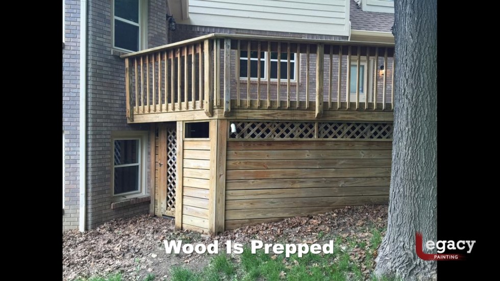 Deck Staining Indiana 3