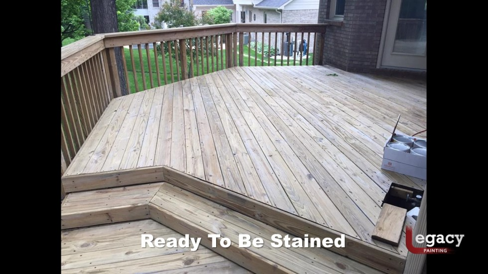 Deck Staining Indiana 4