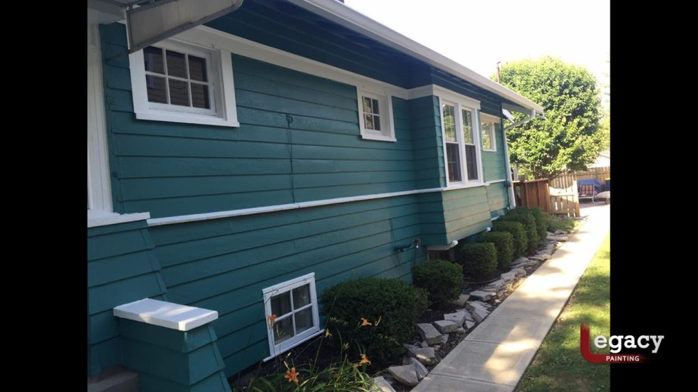 Exterior Trim And Siding Legacy Painting