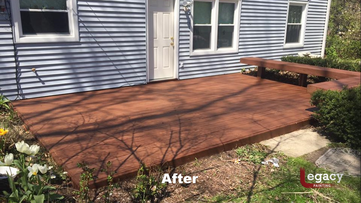low deck staining indianapolis 2
