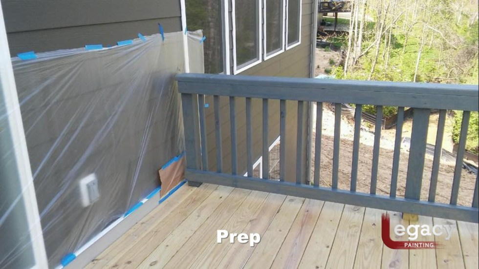 Solid Color Deck Staining Indianapolis 3