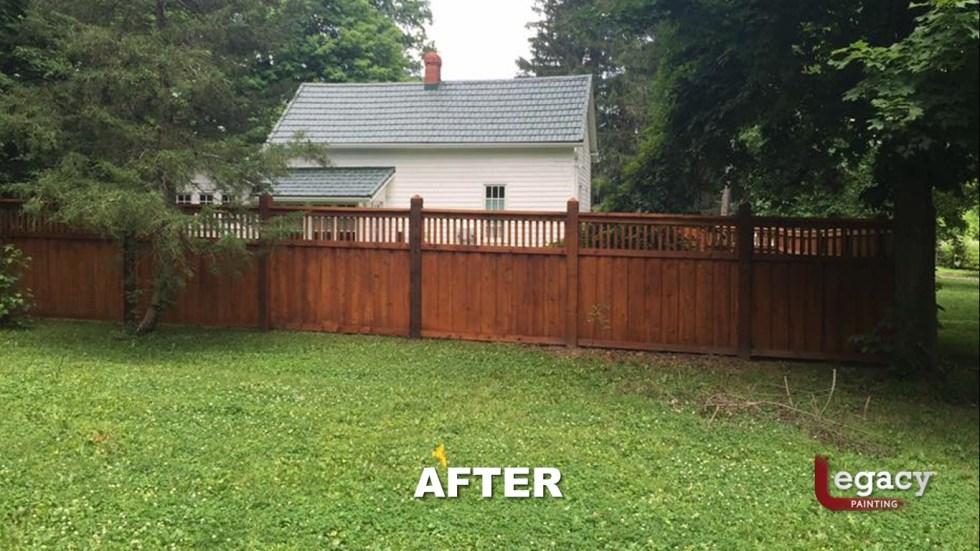 New Decorative Fence Staining 5