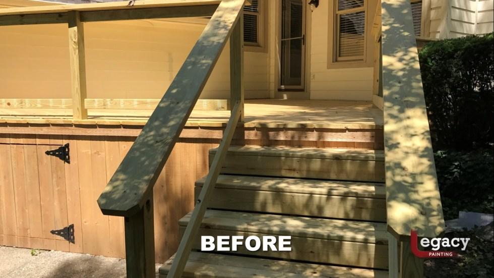 Carmel New Deck Staining - Teak 4