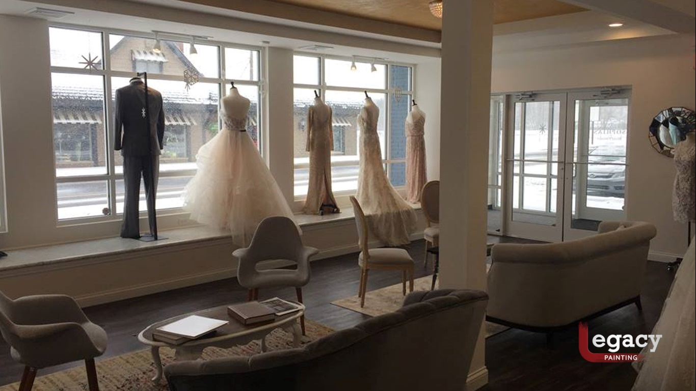 Wedding Store Interior Painting