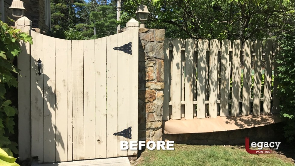 Indy Fence Staining Solid Color 2