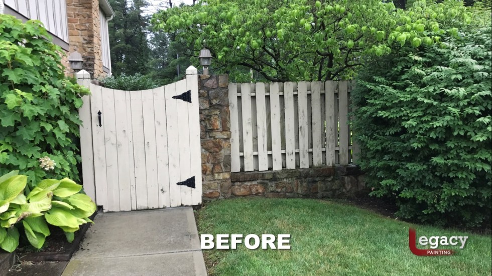 Indy Fence Staining Solid Color