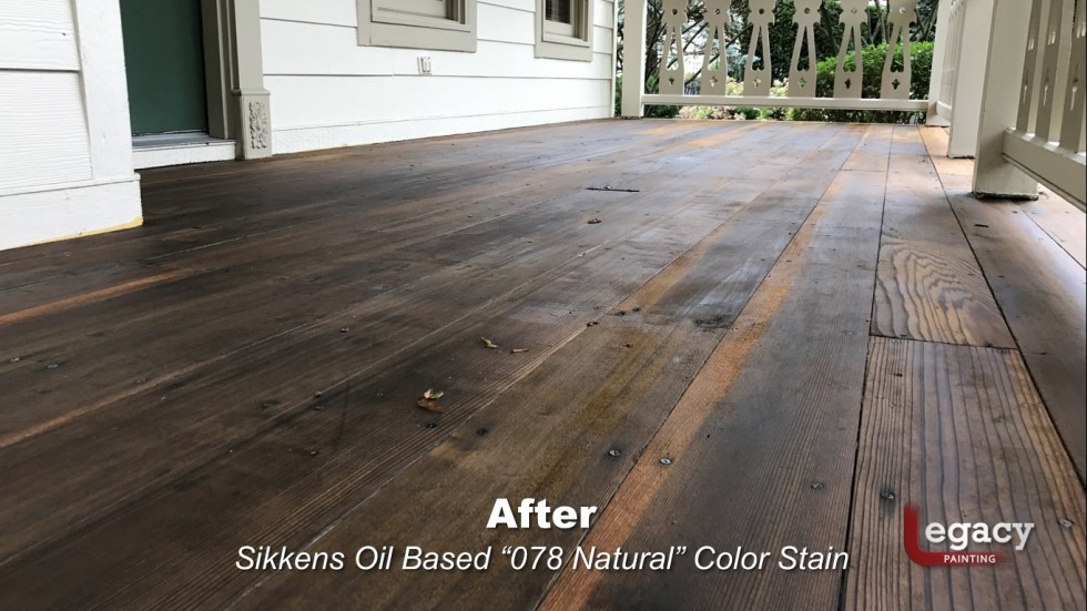 Redwood Deck Staining - Carmel Indiana 4
