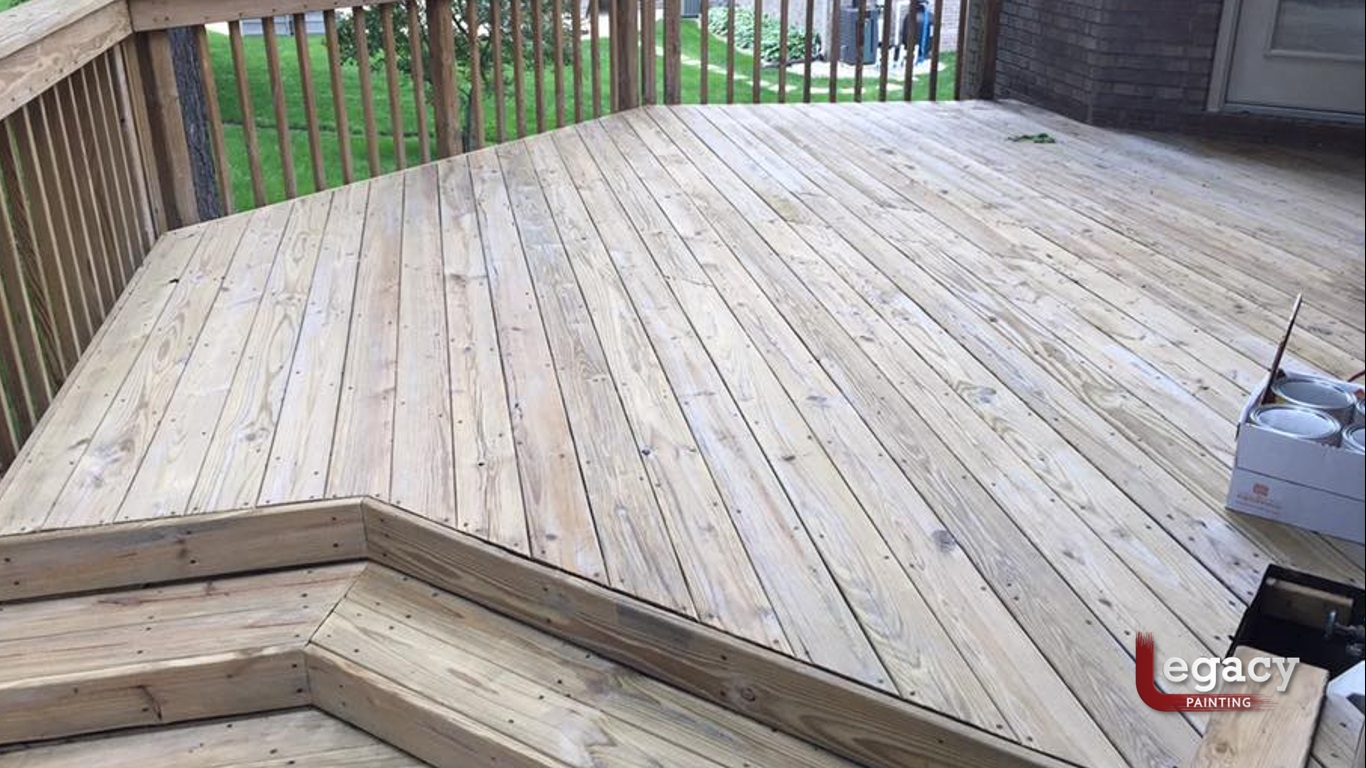 Mill Glaze On Decking And How To Remove It