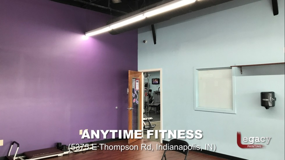 Commercial Painting Services - Anytime Fitness 6