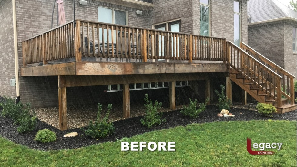 Deck Staining Fishers Indiana Sikkens Teak