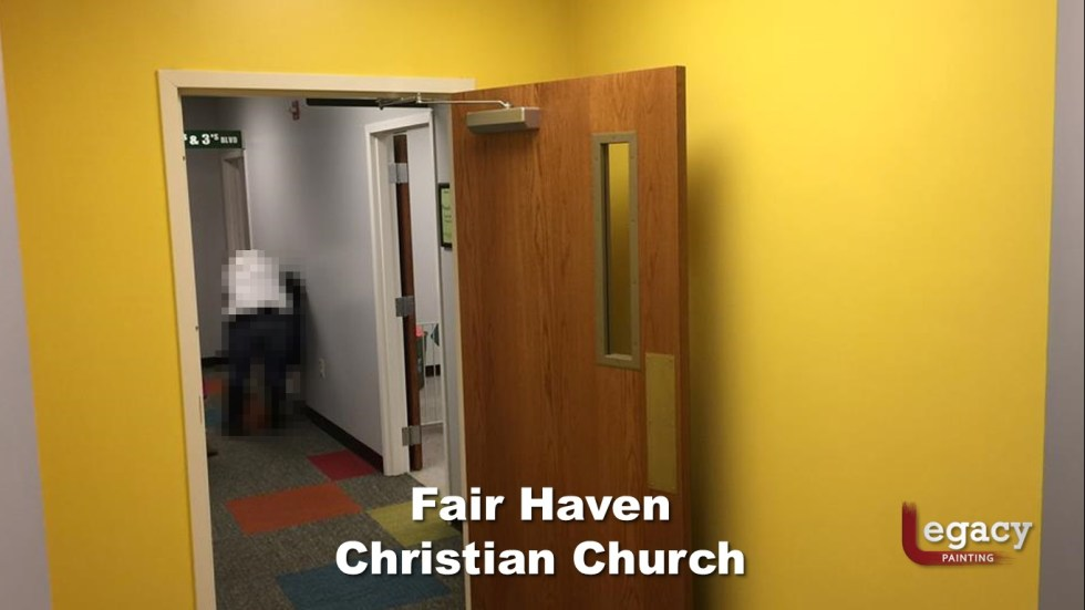 Interior Commercial Painting - Fair Haven Church 3