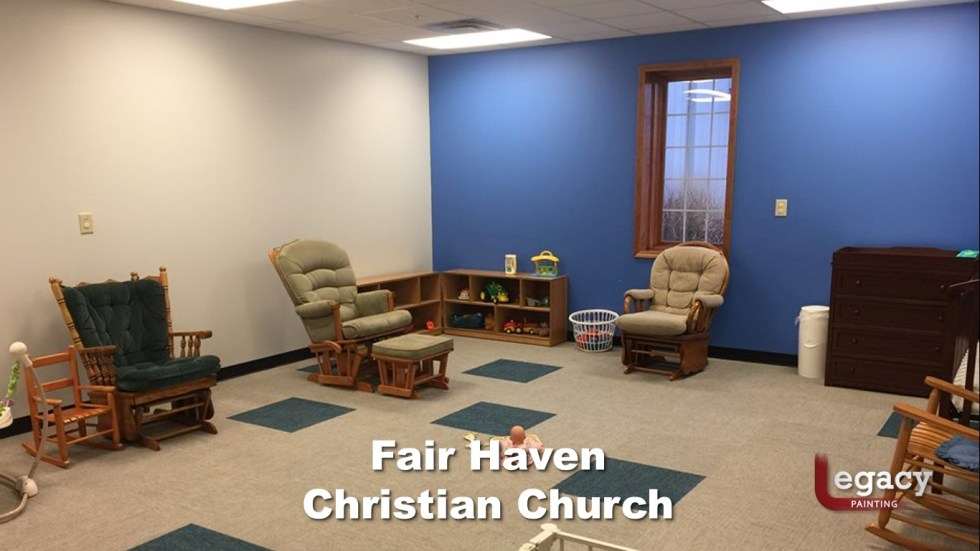 Interior Commercial Painting - Fair Haven Church