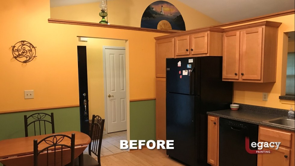 Home Interior Painting - Before 2 - Franklin Indiana