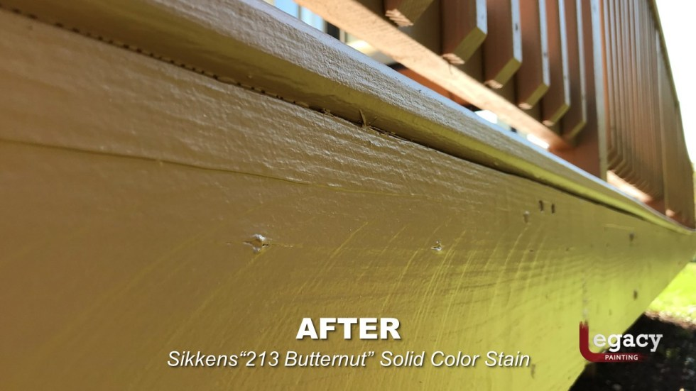 Plainfield Deck Staining - Butternut - Slide11
