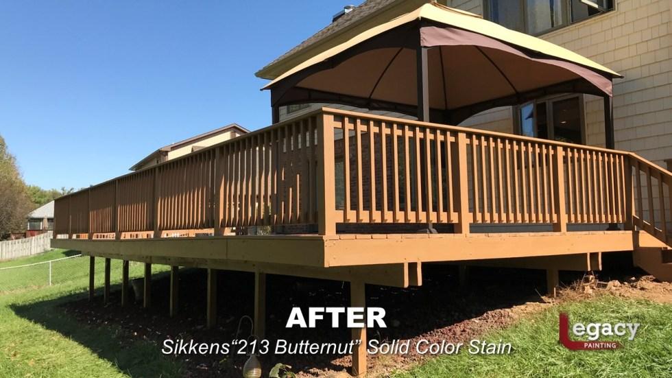 Plainfield Deck Staining - Butternut - Slide4