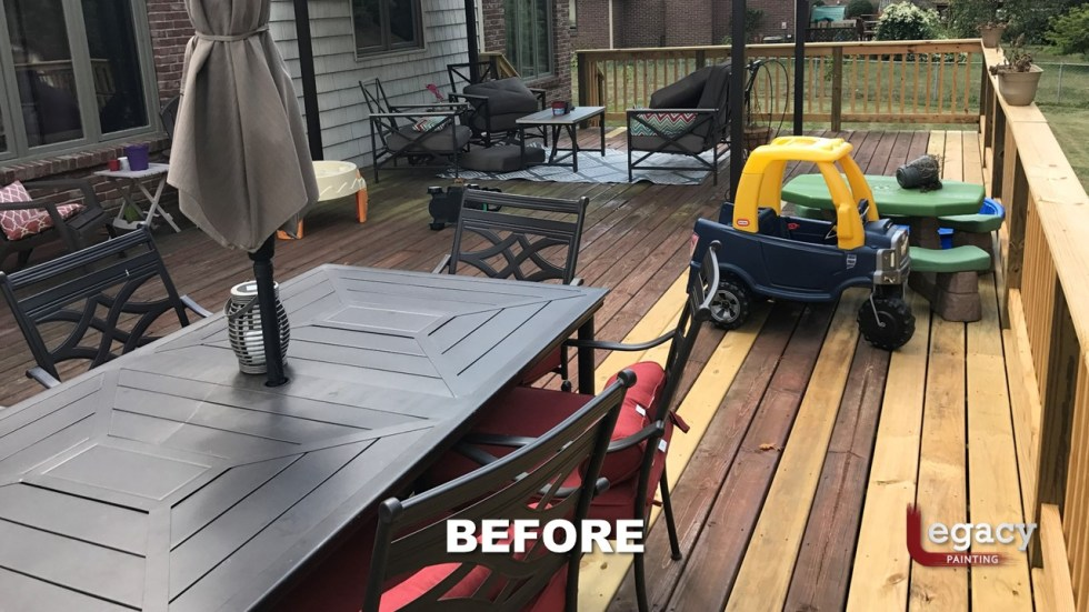 Plainfield Deck Staining - Butternut - Slide7