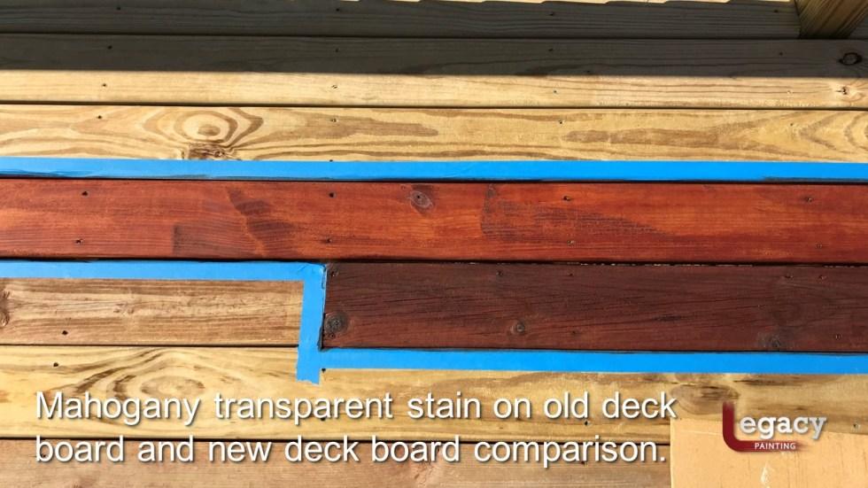 Plainfield Deck Staining - Butternut - Slide8